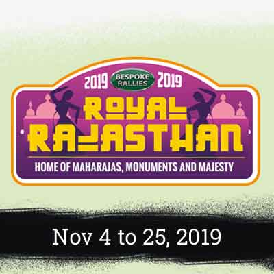 Bespoke Rallies - Royal Rajasthan Rally 2019, Worldwide Classic Car Rally & Touring Events
