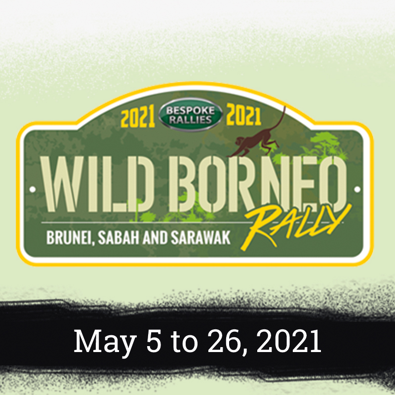 Bespoke Rallies - Wild Borneo Rally 2021, Worldwide Classic Car Rally & Touring Events