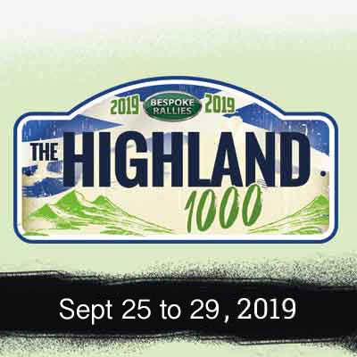 Bespoke Rallies | The Highland 1000 2019 | Classic Car Rally & Touring Event