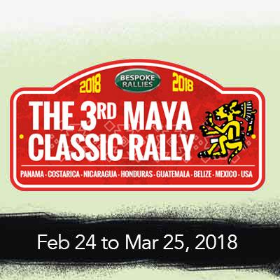 Bespoke Rallies   The 3rd Maya Classic 2018   Classic Car Rally & Touring Event