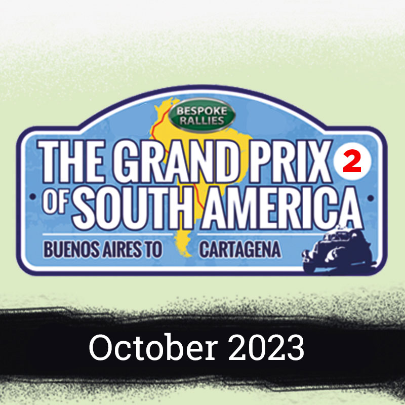 Bespoke Rallies | The Grand Prix of South America Rally 2023 | Classic Car Rally & Touring Event | October 2023