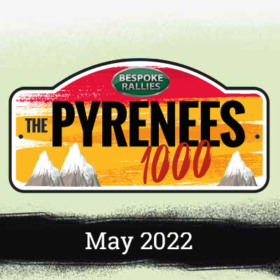 Bespoke Rallies   The Pyrenees 1000 2022   Classic Car Rally & Touring Event   May 2022
