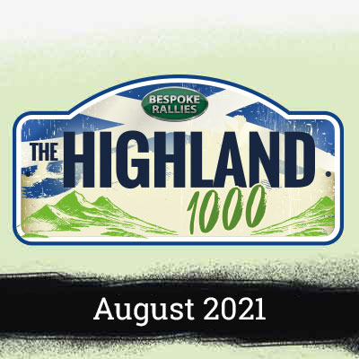 Bespoke Rallies   The Highland Rally 2021   Classic Car Rally & Touring Event   September 2021