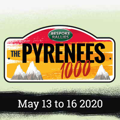 Bespoke Rallies   The Pyrenees 1000 2020   Classic Car Rally & Touring Event   May 2020