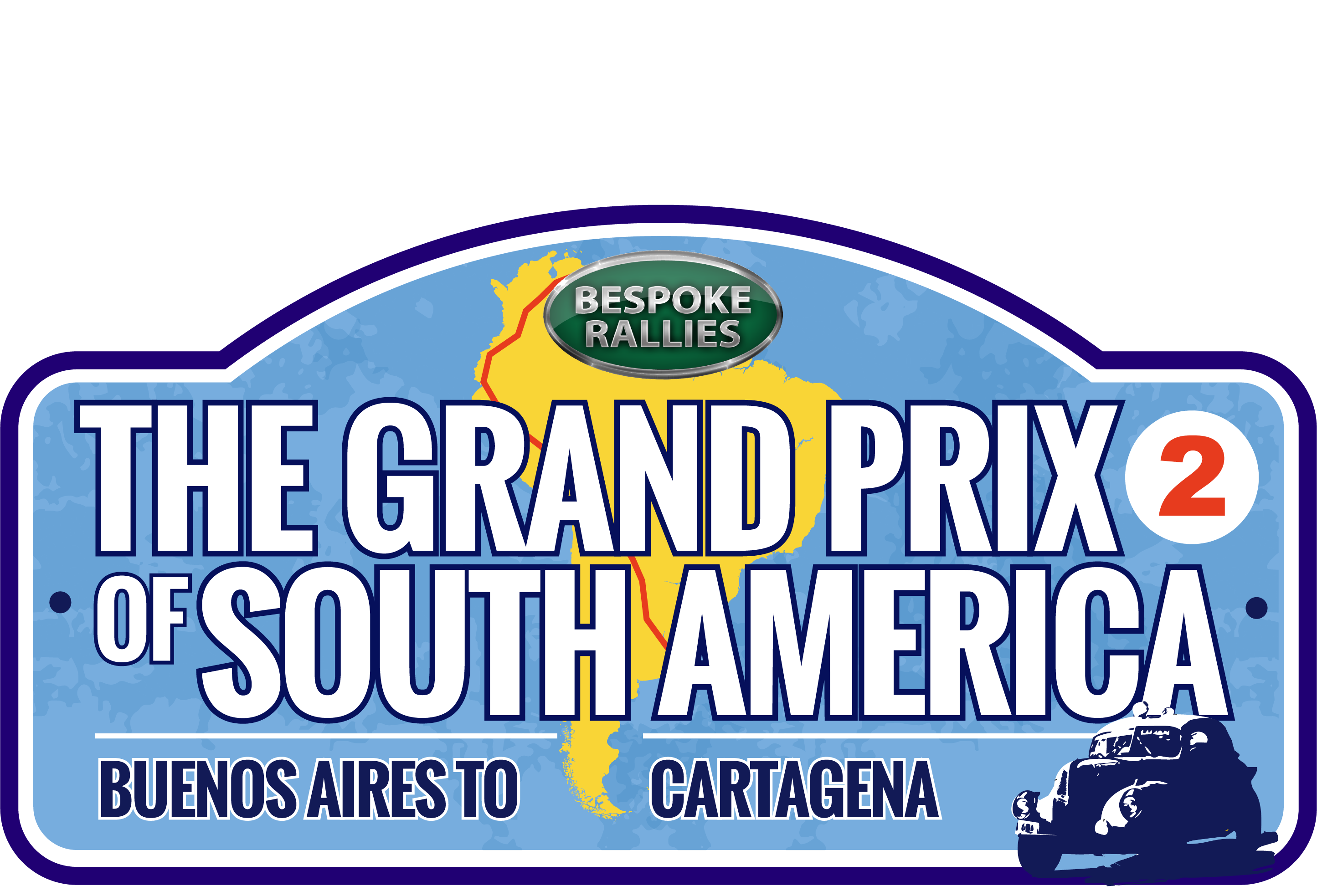 Bespoke Rallies | Grand Prix of South America 2023 | Classic Car Rally