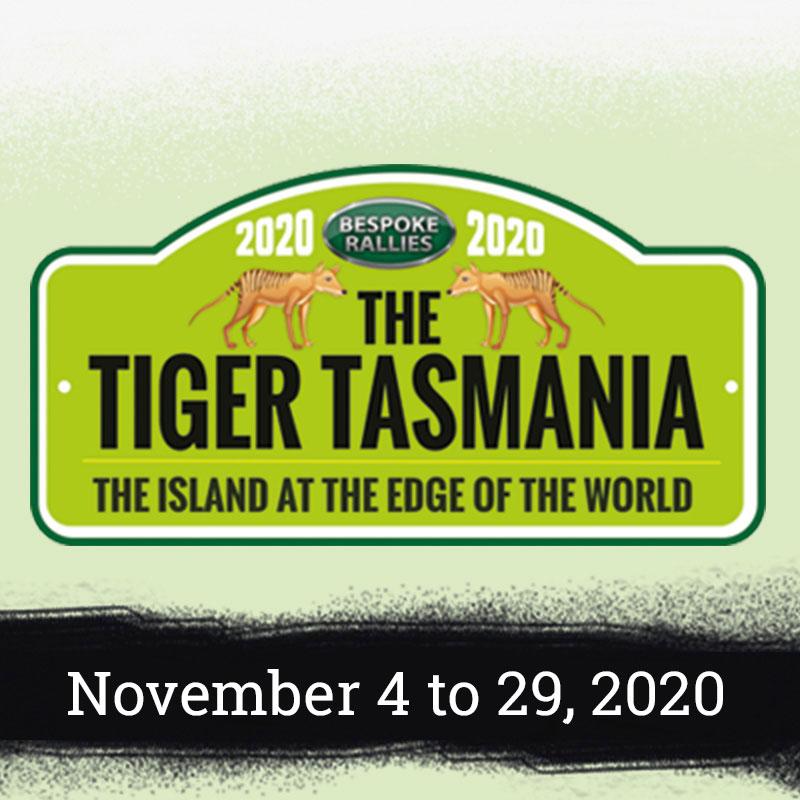 Bespoke Rallies | The Tiger Tasmania 2020 | Classic Car Rally & Touring Event | November 3 to 28 2020