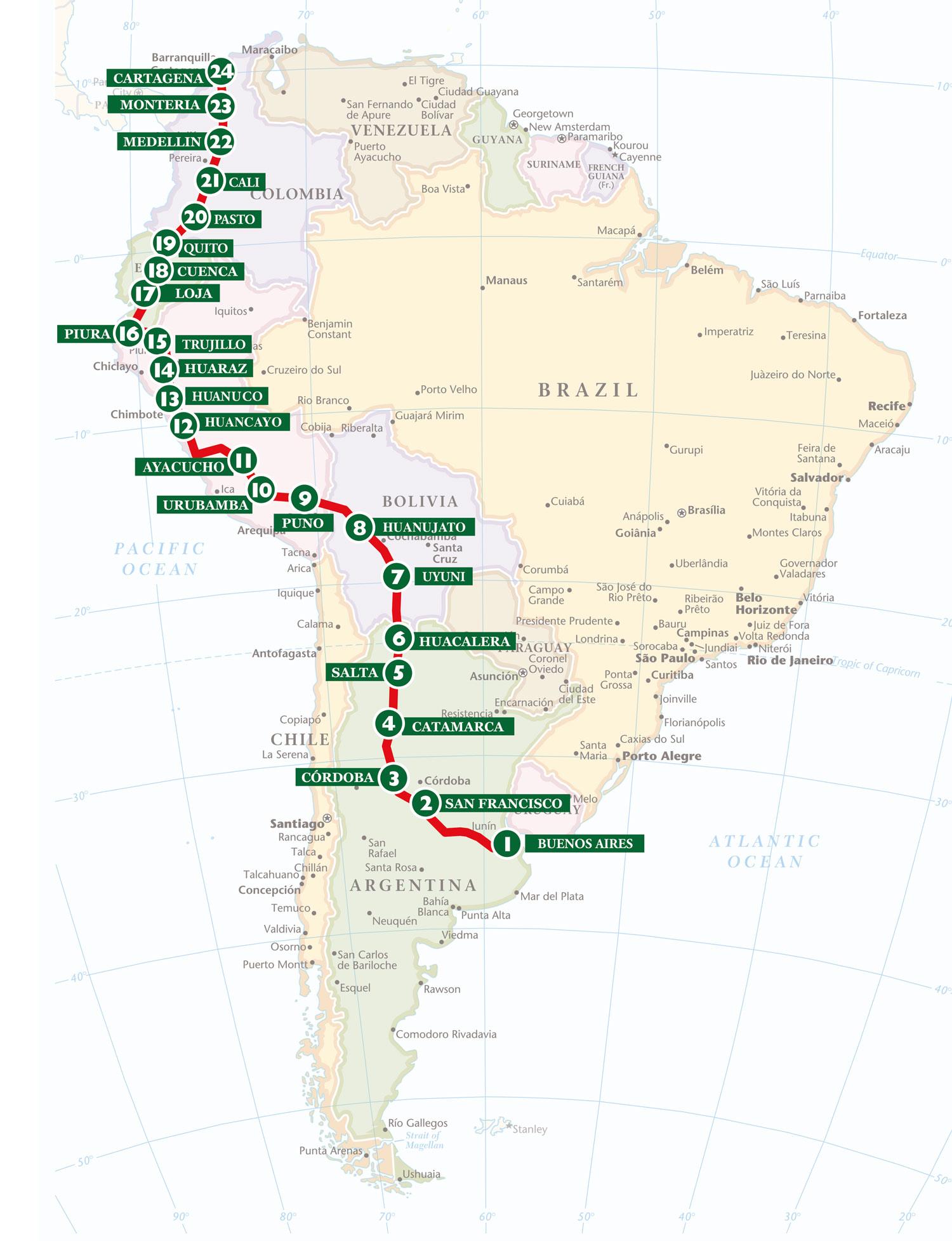 Bespoke Rallies | Grand Prix of South America 2023 | Classic Car Rally
