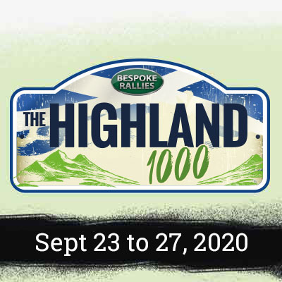 Bespoke Rallies   The Highland Rally 2020   Classic Car Rally & Touring Event   September 2020