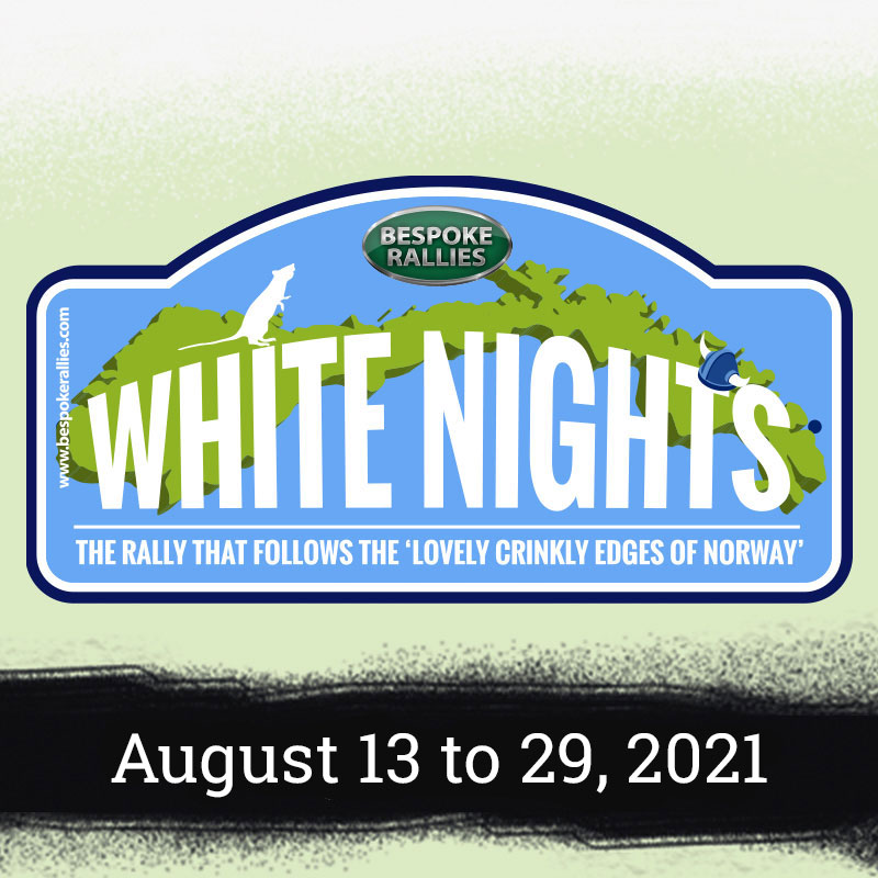 Bespoke Rallies   White Knights 2021   Classic Car Rally & Touring Event   August 2021
